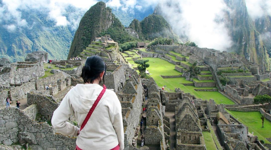 ペルーでスペイン語留学中に訪れた世界遺産マチュピチュ